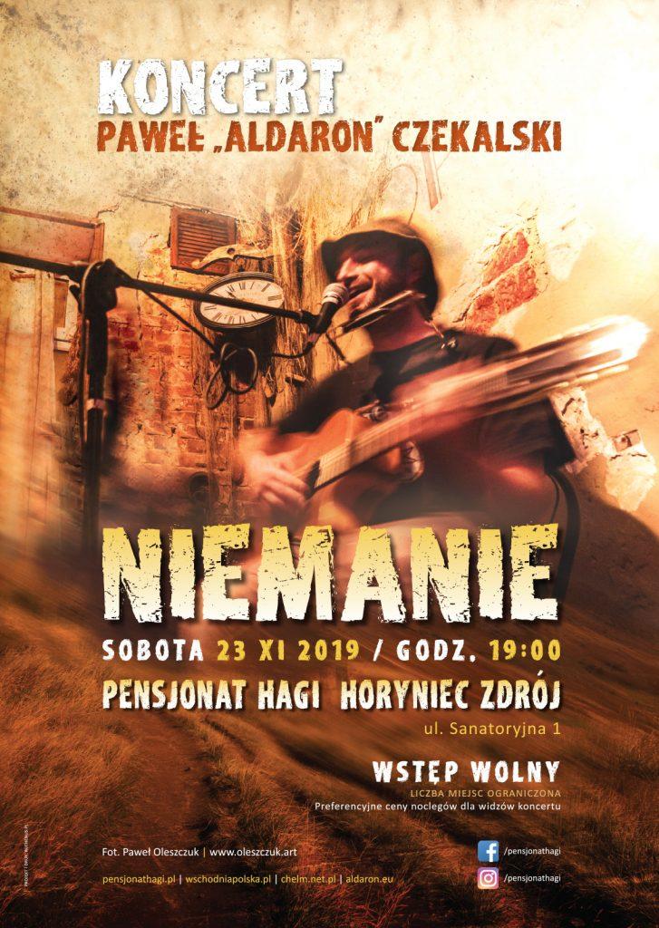 """Koncert Paweł """"Aldaron"""" Czekalski - """"Niemanie"""""""