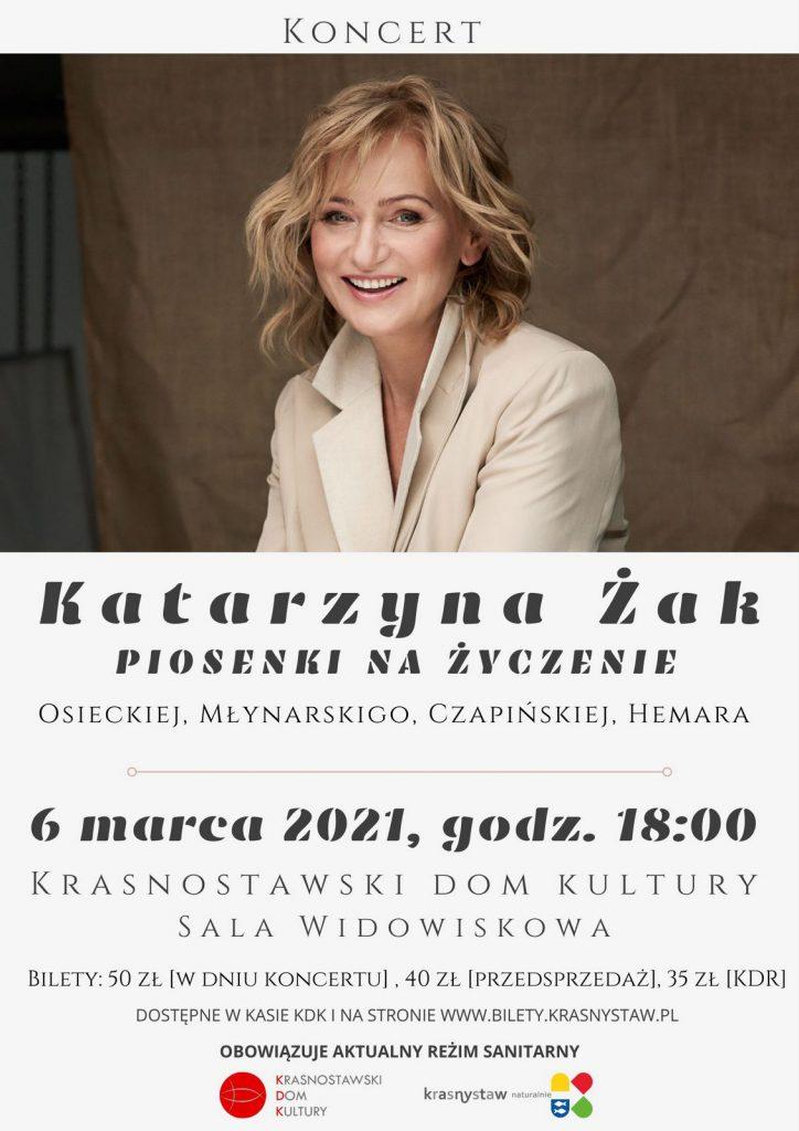 Katarzyna Żak - koncert