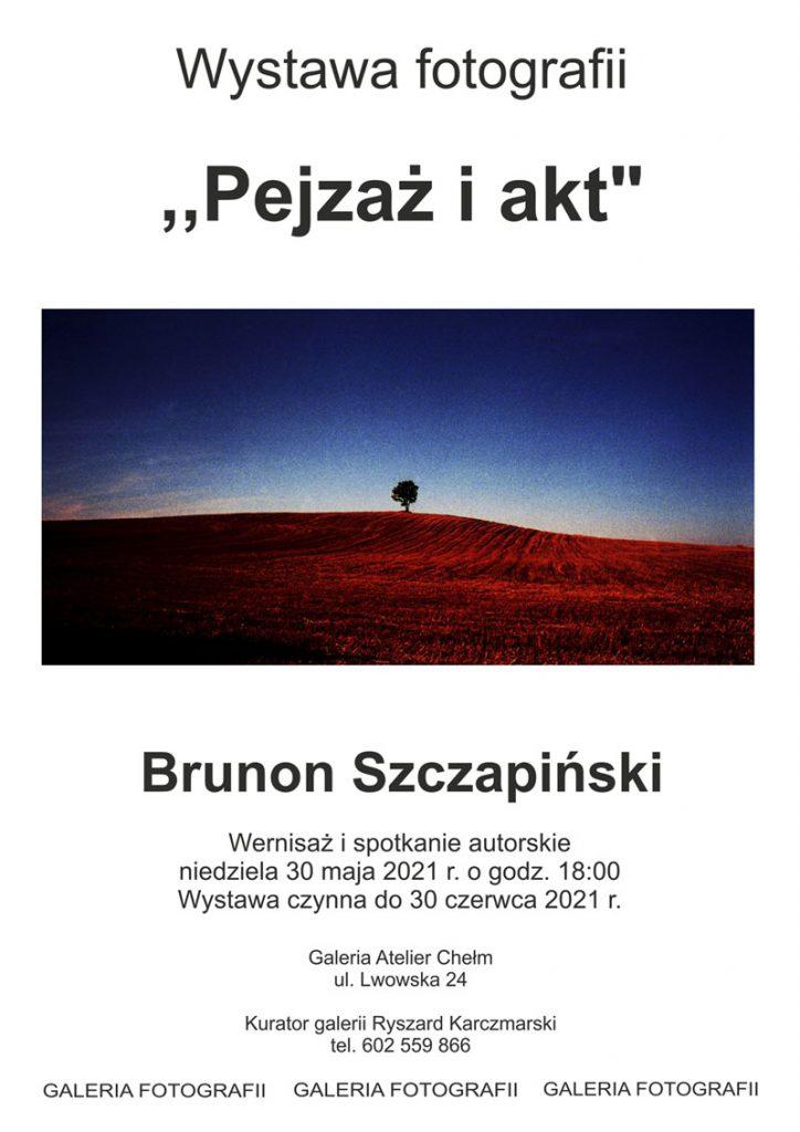 Brunon Szczapiński Wernisaż wystawy fotografii Pejzaż i Akt