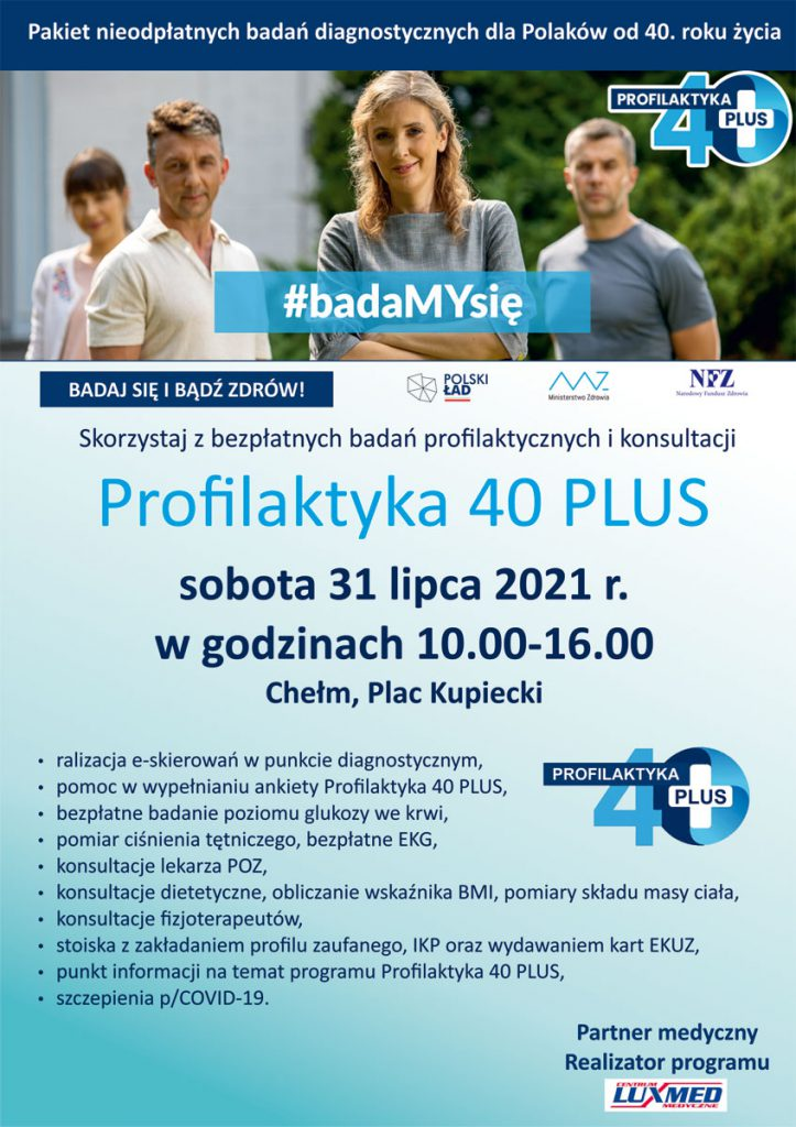 Program 40 plus - Chełm