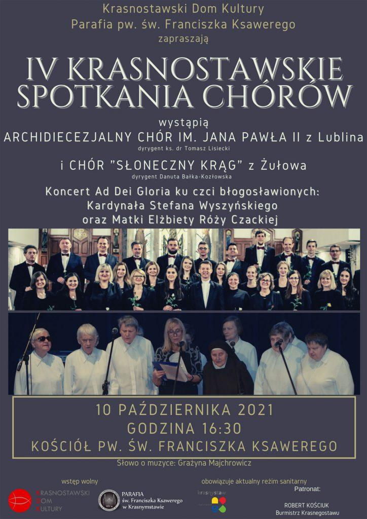 Koncert - IV Krasnostawskie Spotkania Chórów
